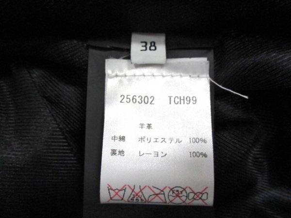 バレンシアガ ライダースジャケット サイズ38 M レディース美品  黒 4