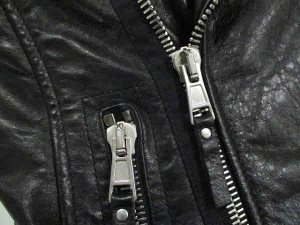 バレンシアガ ライダースジャケット サイズ38 M レディース美品  黒 5