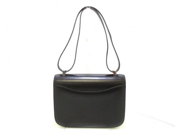 エルメス ショルダーバッグ美品  コンスタンス23 黒 ボックスカーフ 3