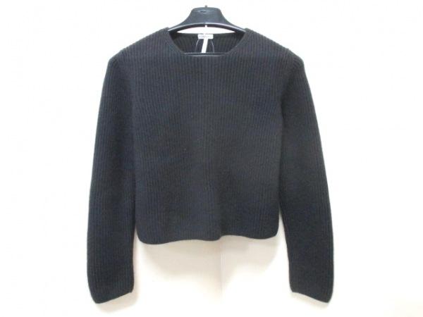 エルメス 長袖セーター サイズS レディース美品  ダークブラウン 0
