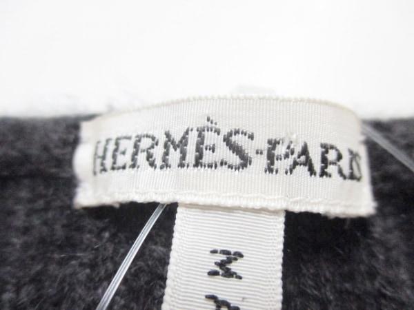 エルメス 長袖セーター サイズS レディース美品  ダークブラウン 3
