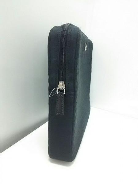 COACH(コーチ) バッグ美品  ミニシグネチャー柄 - 黒 ジャガード 2