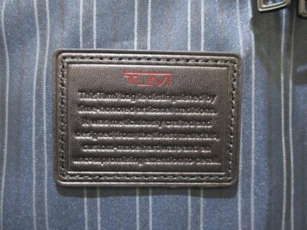 TUMI(トゥミ) ガーメントケース美品  22133NVSE ネイビー SHIPS 6
