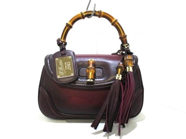 グッチ ハンドバッグ美品  ニューバンブー 273800 1921コレクション 0