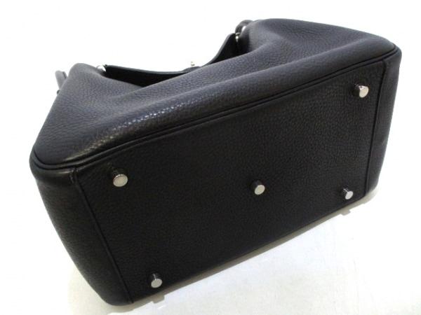HERMES(エルメス) ハンドバッグ リンディ30 黒 トリヨンクレマンス 4