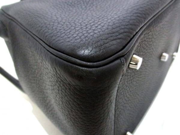HERMES(エルメス) ハンドバッグ リンディ30 黒 トリヨンクレマンス 8