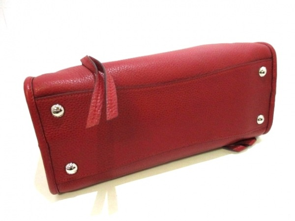 PRADA(プラダ) ハンドバッグ美品  - 1BB022 レッド 革タグ レザー 4