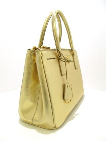 PRADA(プラダ) ハンドバッグ美品  - BN1801 ゴールド 2