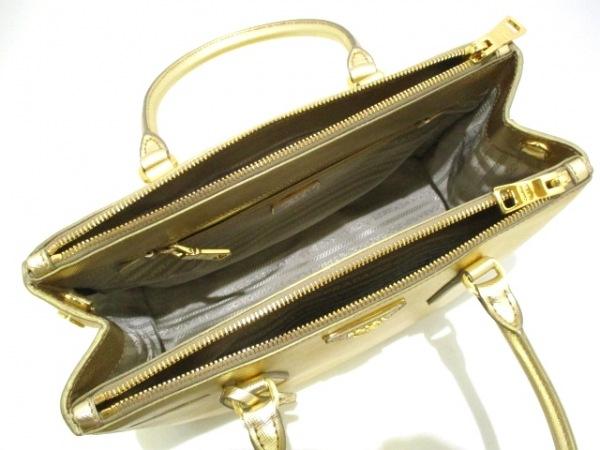PRADA(プラダ) ハンドバッグ美品  - BN1801 ゴールド 5