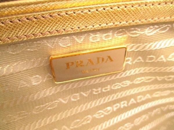 PRADA(プラダ) ハンドバッグ美品  - BN1801 ゴールド 6