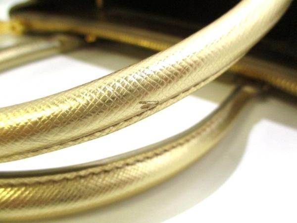 PRADA(プラダ) ハンドバッグ美品  - BN1801 ゴールド 7