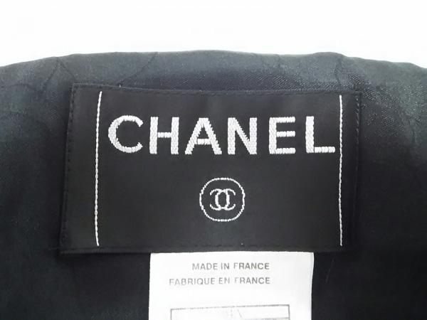 CHANEL(シャネル) ジャケット サイズ42 L レディース 黒×アイボリー 3