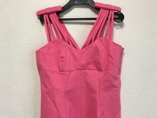 MOSCHINO(モスキーノ) ドレス レディース美品  ピンク リボン 0