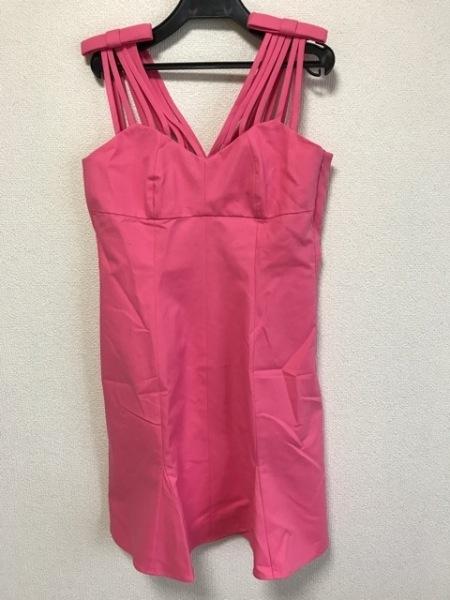MOSCHINO(モスキーノ) ドレス レディース美品  ピンク リボン 2