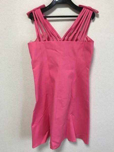 MOSCHINO(モスキーノ) ドレス レディース美品  ピンク リボン 3