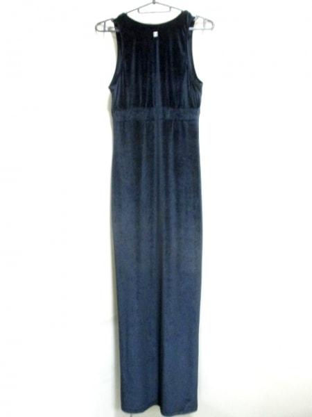 シャネル ワンピース サイズ38 M レディース 黒 ベロア/ロング丈 3