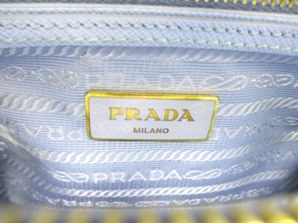 PRADA(プラダ) ハンドバッグ - BL0838 ブルー 6