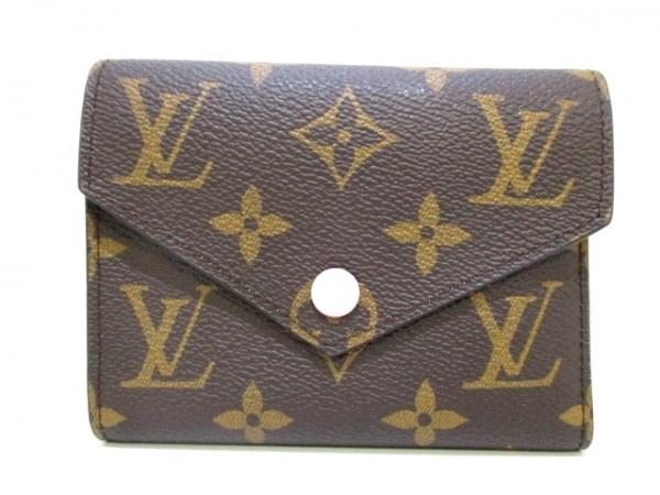 LOUIS VUITTON(ルイヴィトン) 3つ折り財布 モノグラム美品  M62360 0