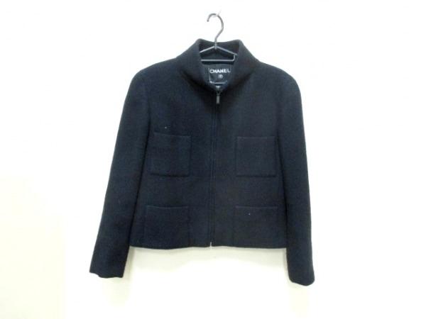 CHANEL(シャネル) ジャケット サイズ40 M レディース美品  黒 0
