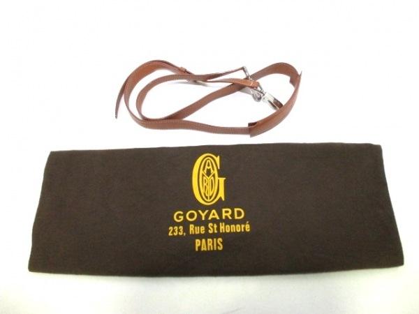 GOYARD(ゴヤール) ビジネスバッグ アンバサダー 黒×白×マルチ 9