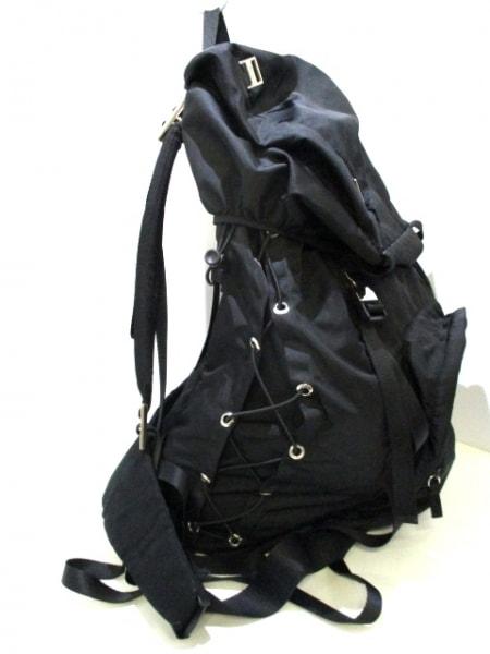 PRADA(プラダ) リュックサック美品  - V133 黒 ナイロン 2