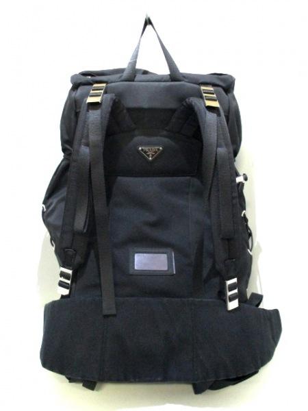 PRADA(プラダ) リュックサック美品  - V133 黒 ナイロン 3
