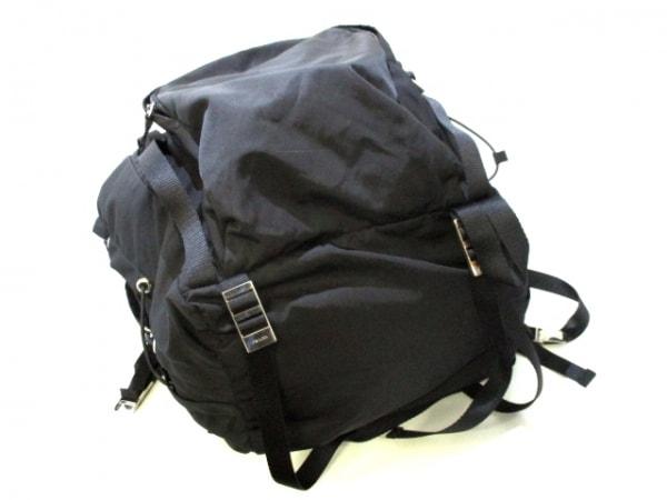 PRADA(プラダ) リュックサック美品  - V133 黒 ナイロン 4