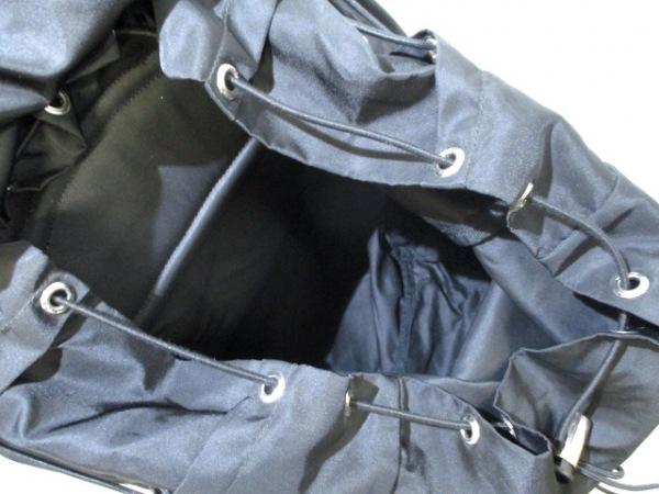 PRADA(プラダ) リュックサック美品  - V133 黒 ナイロン 5