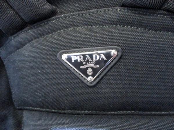 PRADA(プラダ) リュックサック美品  - V133 黒 ナイロン 6
