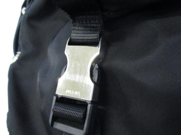PRADA(プラダ) リュックサック美品  - V133 黒 ナイロン 8
