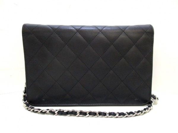 CHANEL(シャネル) 財布美品  カンボンライン A46646 黒 2