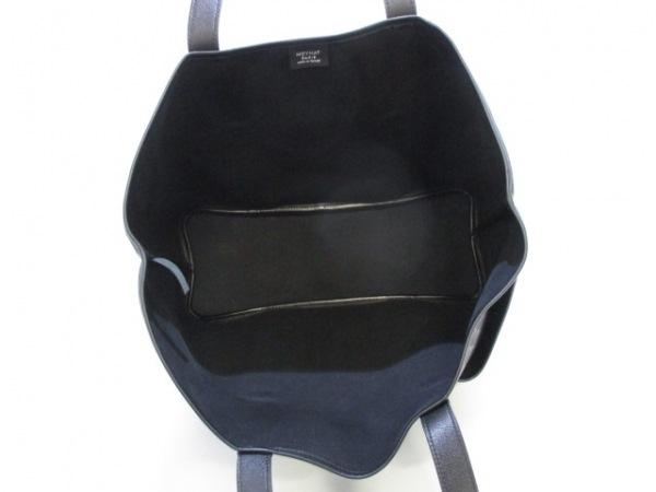 モワナ トートバッグ ガーデナーバッグ 黒×ダークグレー×グレー 5