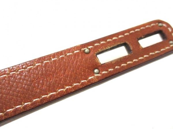 エルメス ビジネスバッグ ケリーデペッシュ38 ゴールド シルバー金具 4