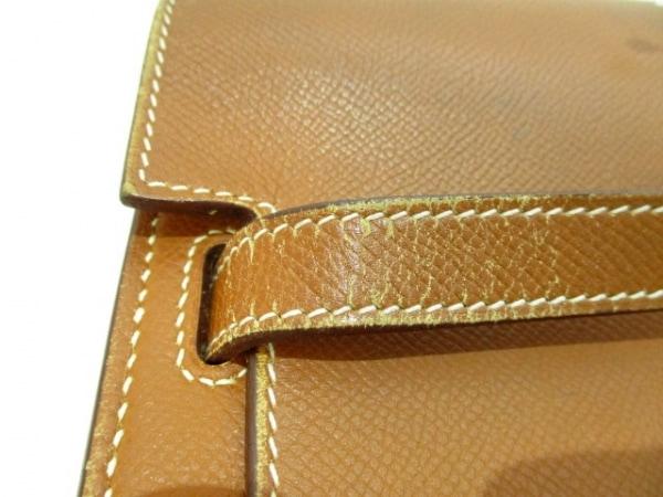 エルメス ビジネスバッグ ケリーデペッシュ38 ゴールド シルバー金具 7