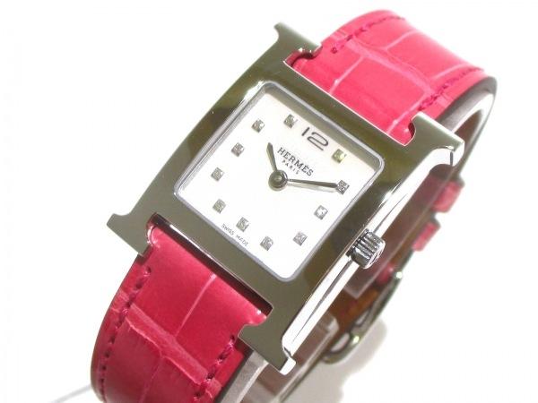 エルメス 腕時計美品  Hウォッチ HH1.210/036748WW00 レディース 0
