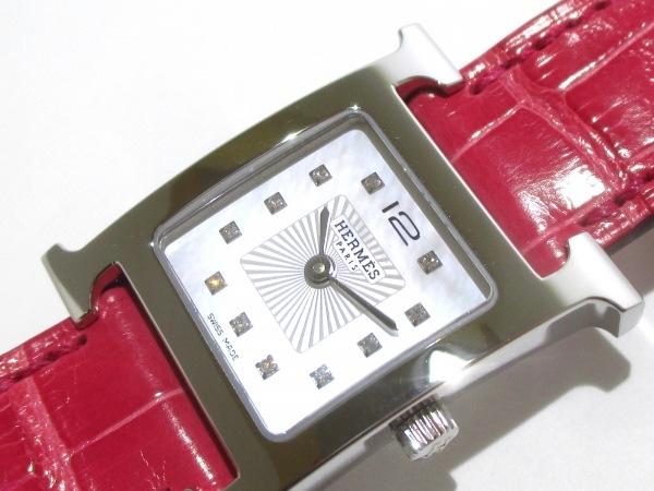 エルメス 腕時計美品  Hウォッチ HH1.210/036748WW00 レディース 6