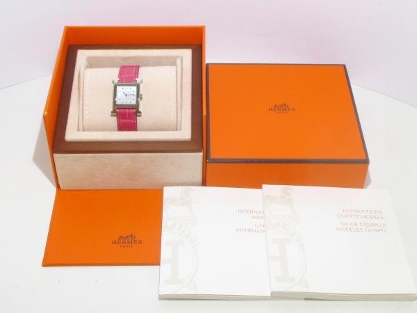 エルメス 腕時計美品  Hウォッチ HH1.210/036748WW00 レディース 8