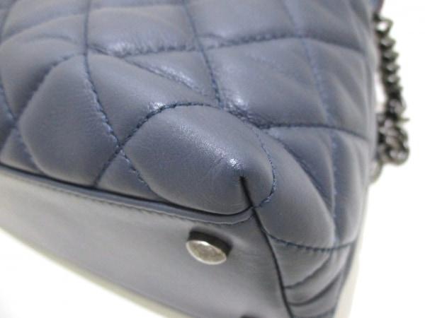 シャネル ショルダーバッグ美品  - A93270 ラムスキン×ツイード 8