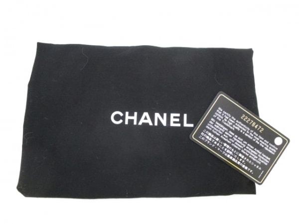 シャネル ショルダーバッグ美品  - A93270 ラムスキン×ツイード 9