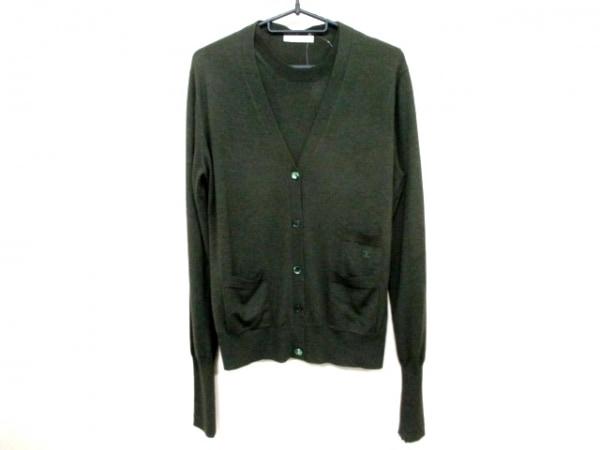 セリーヌ 長袖セーター サイズL L レディース ダークグリーン 0