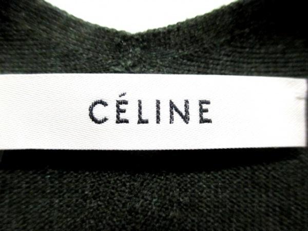 セリーヌ 長袖セーター サイズL L レディース ダークグリーン 3