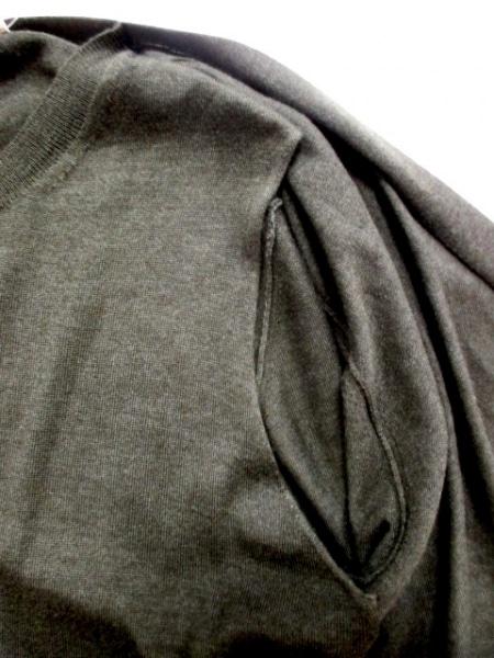 セリーヌ 長袖セーター サイズL L レディース ダークグリーン 5