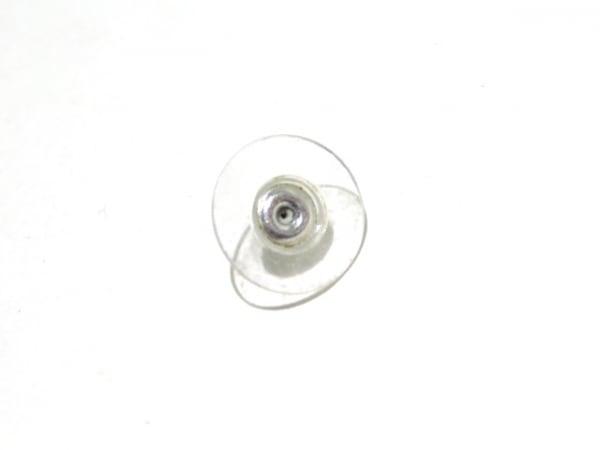シャネル ピアス美品  金属素材×フェイクパール×ラインストーン 5
