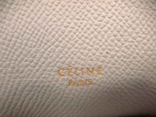 セリーヌ ハンドバッグ美品  ベルトバッグ スモール - グレー レザー 6