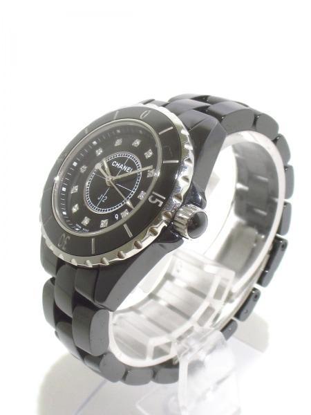 CHANEL(シャネル) 腕時計美品  J12 H1625 レディース 黒 2