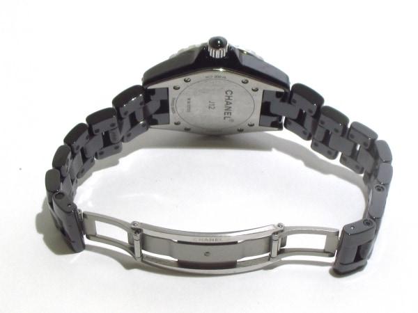 CHANEL(シャネル) 腕時計美品  J12 H1625 レディース 黒 5
