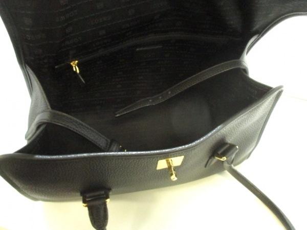 LOEWE(ロエベ) ハンドバッグ美品  - 黒 レザー 5