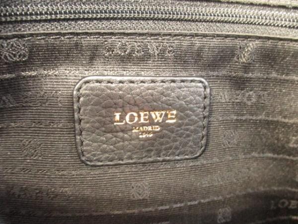 LOEWE(ロエベ) ハンドバッグ美品  - 黒 レザー 6