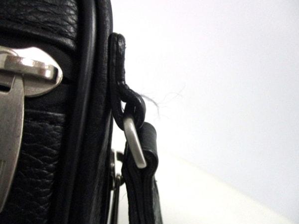 dunhill/ALFREDDUNHILL(ダンヒル) セカンドバッグ美品  黒 レザー 7