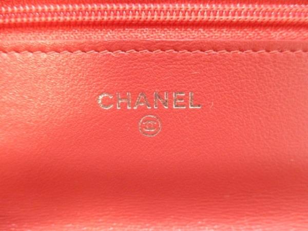CHANEL(シャネル) 財布 マトラッセ A33814 ピンクオレンジ 5